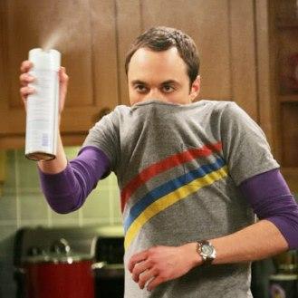 5 Razones para dejar de ver TBBT - Sheldon Spray ASCO
